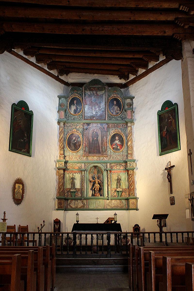 Church Altar as seen today