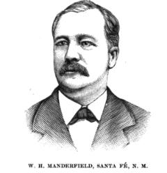 Sketch of William Manderfield