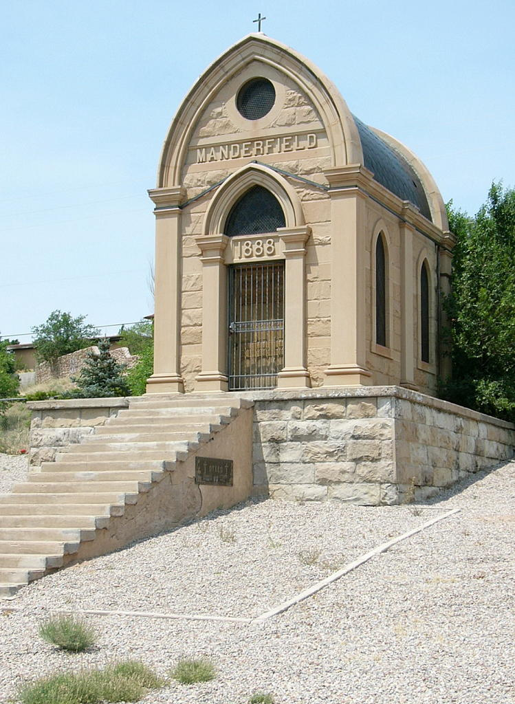Manderfield Mausoleum as seen today