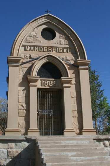 Another image of the mausoleum