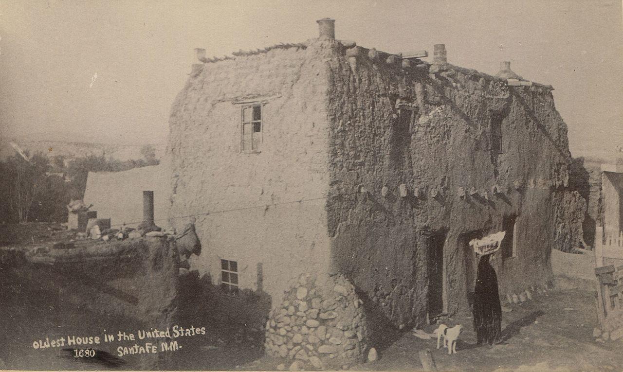 Circa 1880 postcard of the house