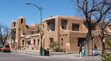 New Mexico Museum of Art as seen today