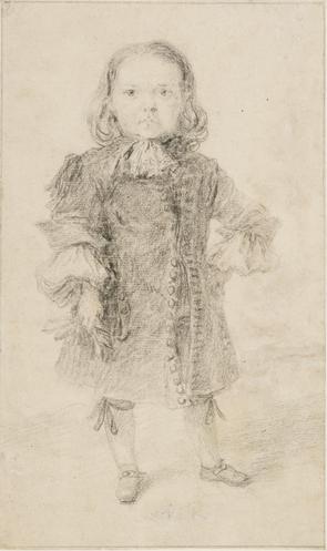 Francisco Rizi (1614-1685), The Dwarf Miguelito, ca. 1680-1683, drawing