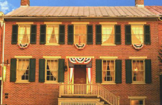 The Shriver House was occupied by Confederate troops during the Battle of Gettysburg. Sharpshooters used the home's attic window as the location from which they shot Union troops.