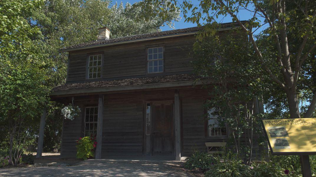Josiah Henson's cabin