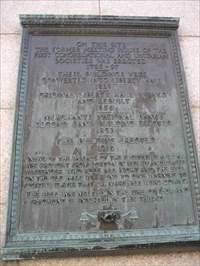 The Liberty Bell Plaque