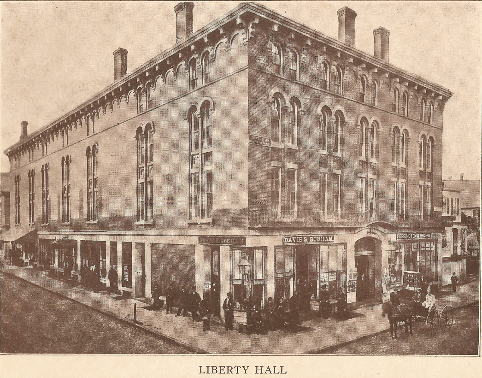 The former Liberty Hall