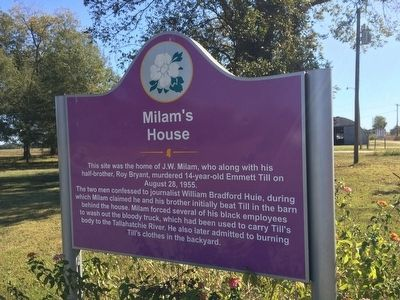 This historic marker