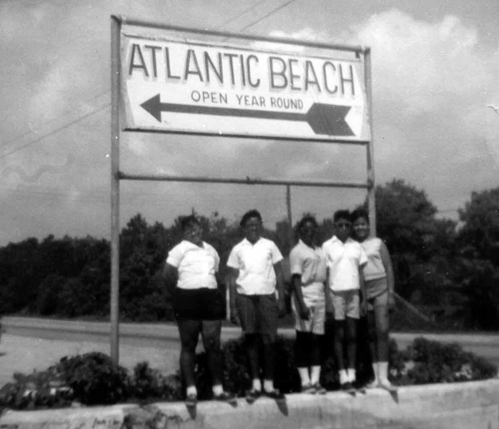 Atlantic Beach was a haven for black families and tourists during the era of racial segregation.