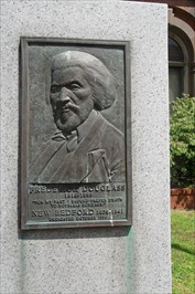 The Frederick Douglass Monument (Courtesy of Waymarking)