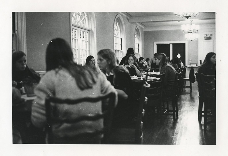 Draper Hall, new dining room, circa 1970