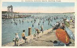 A postcard estimated to be from around the 1930s