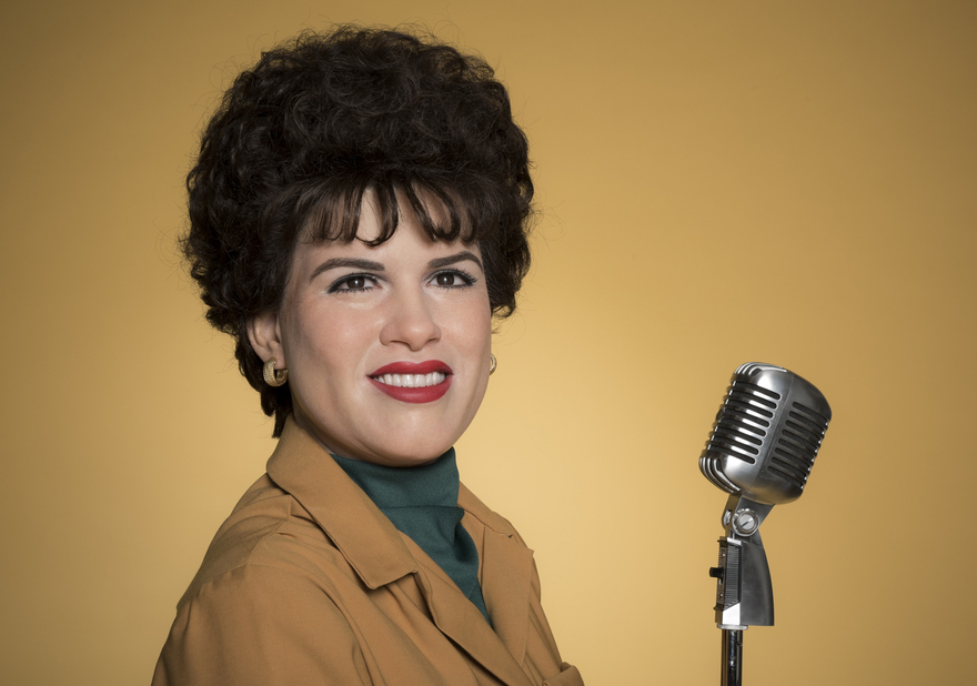 Waxwork of Patsy Cline by Madame Tussaud