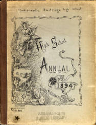 1894 Yearbook Cover