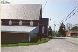 The Old Harrold Zion Lutheran Church , 1883