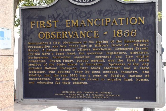 Emancipation Marker