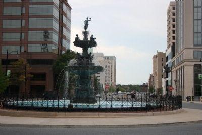 Court Square Fountain