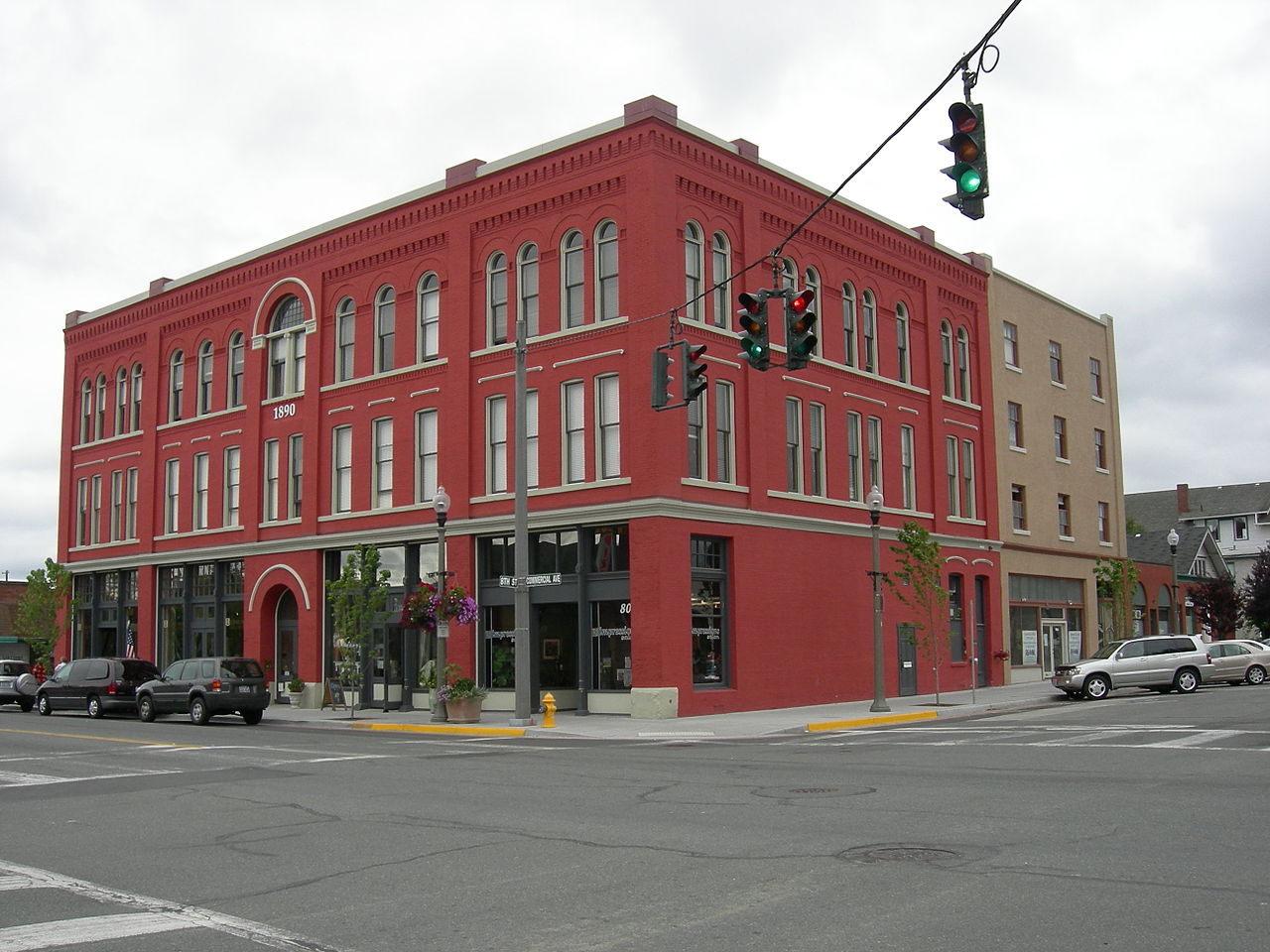 The Former Wilson Hotel has been a landmark in Anacortes since it was built in 1890.