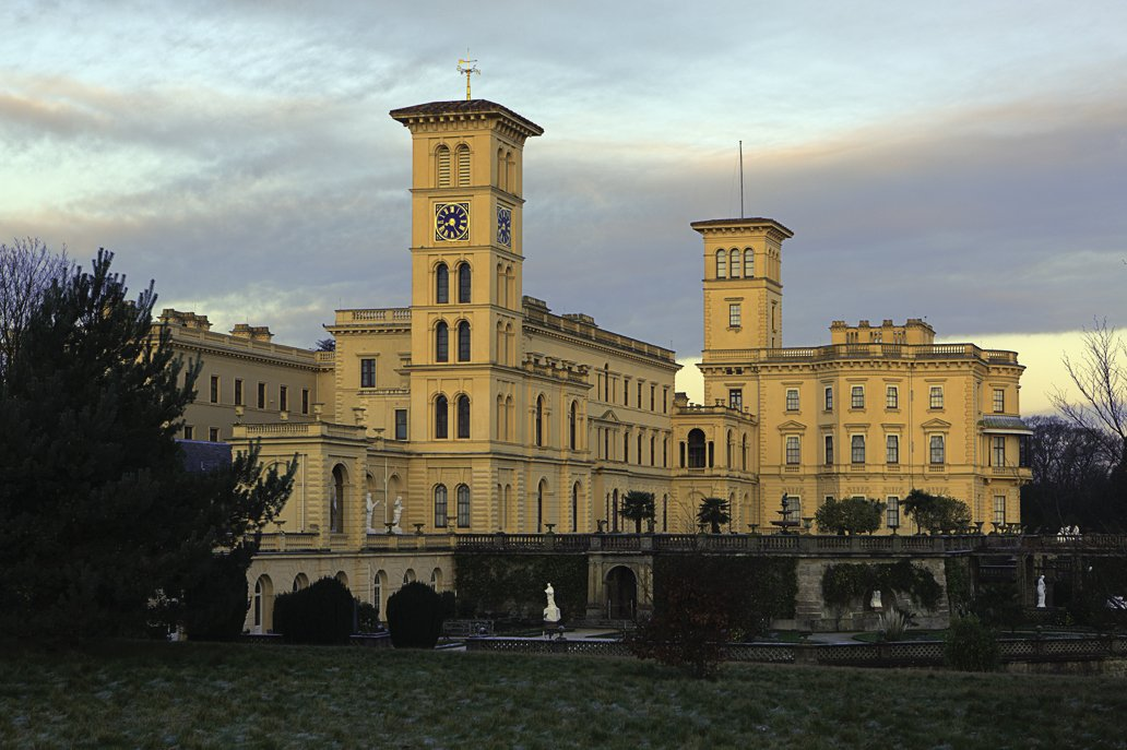 Queen Victoria's Osborne House is another notable example of Italianate Style, which consciously mimics architectural forms of the Italian Renaissance. American versions eventually developed a style all their own. (Photo by Antony McCallum).