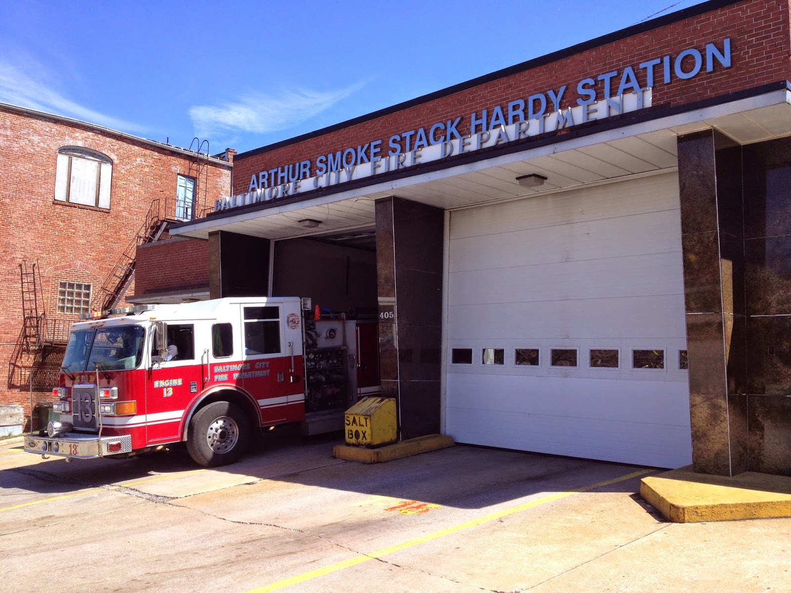 Arthur Hardy Fire Station