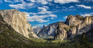 Yosemite Valley sees the majority of visitors to the park.