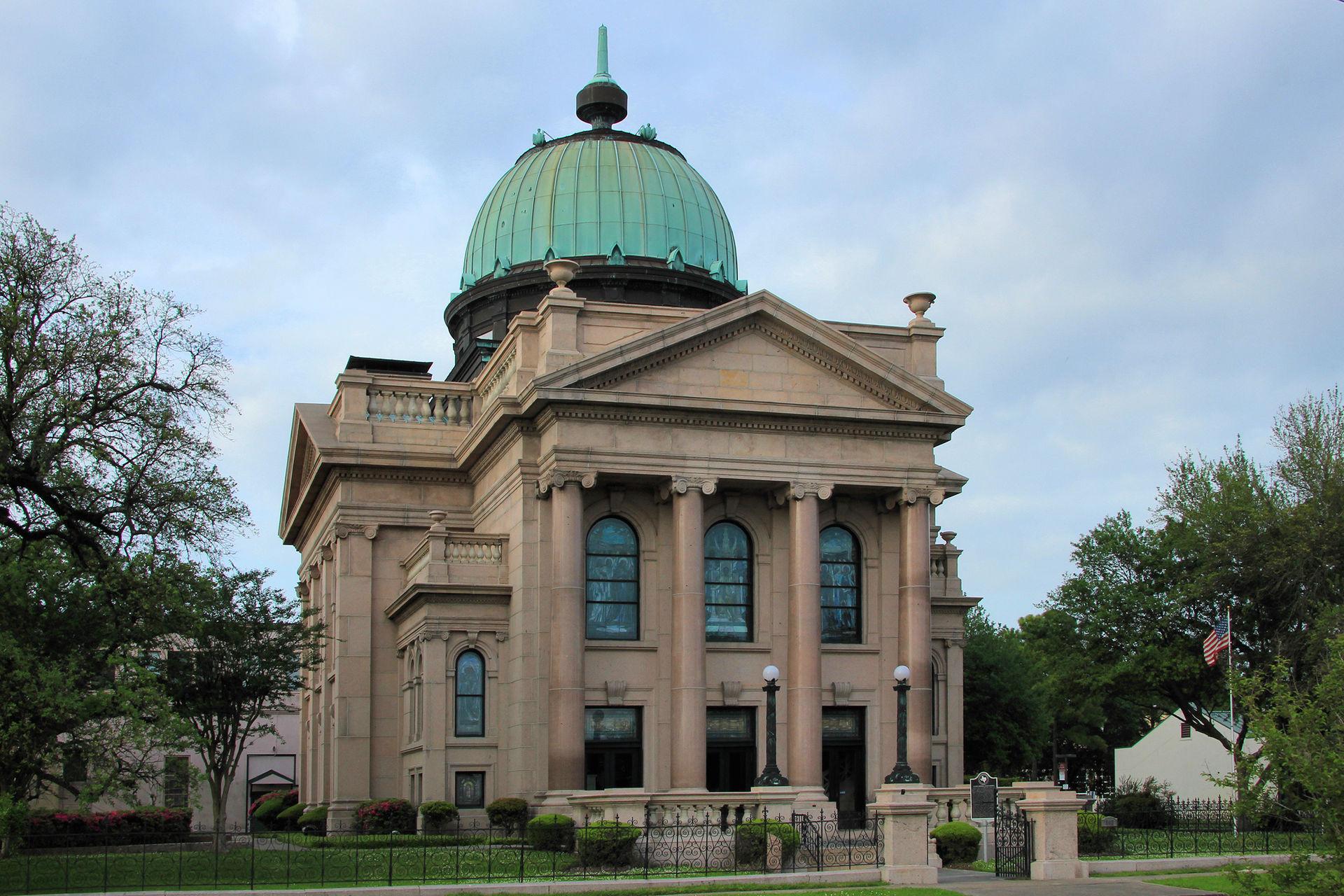 Lutcher Memorial Church was built in 1912.