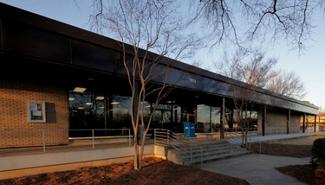 The Richard B. Harrison Community Library.