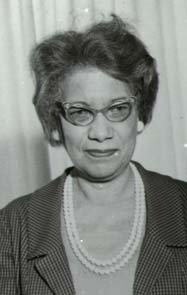 Mollie Huston Lee, Wake County's first African American librarian.