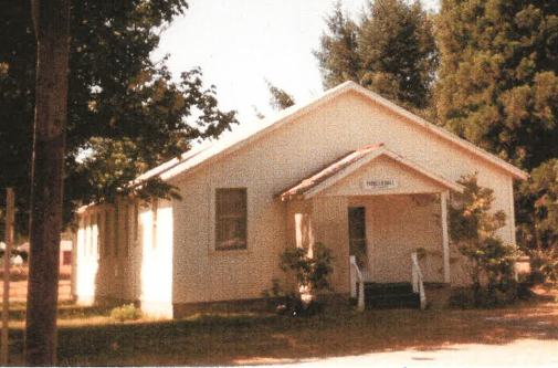 Front view of Pioneer Hall, 1970.