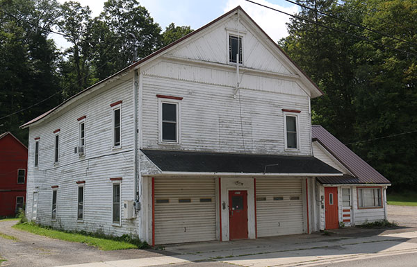 Former Lisle Village Hall and Fire House as it appears today.