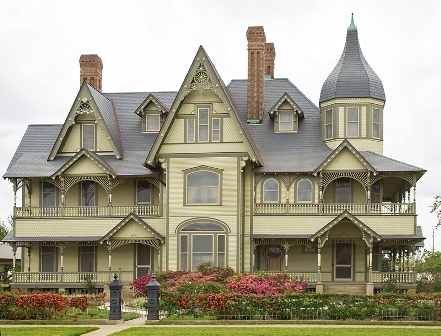 The W. H. Stark house was built in 1895 and is operated by the Nelda C. and H.J. Lutcher Stark Foundation.