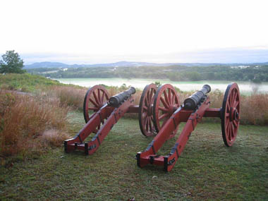 Cannons at Saratoga