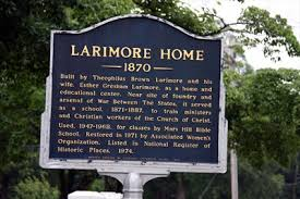 Larimore House Historic Marker