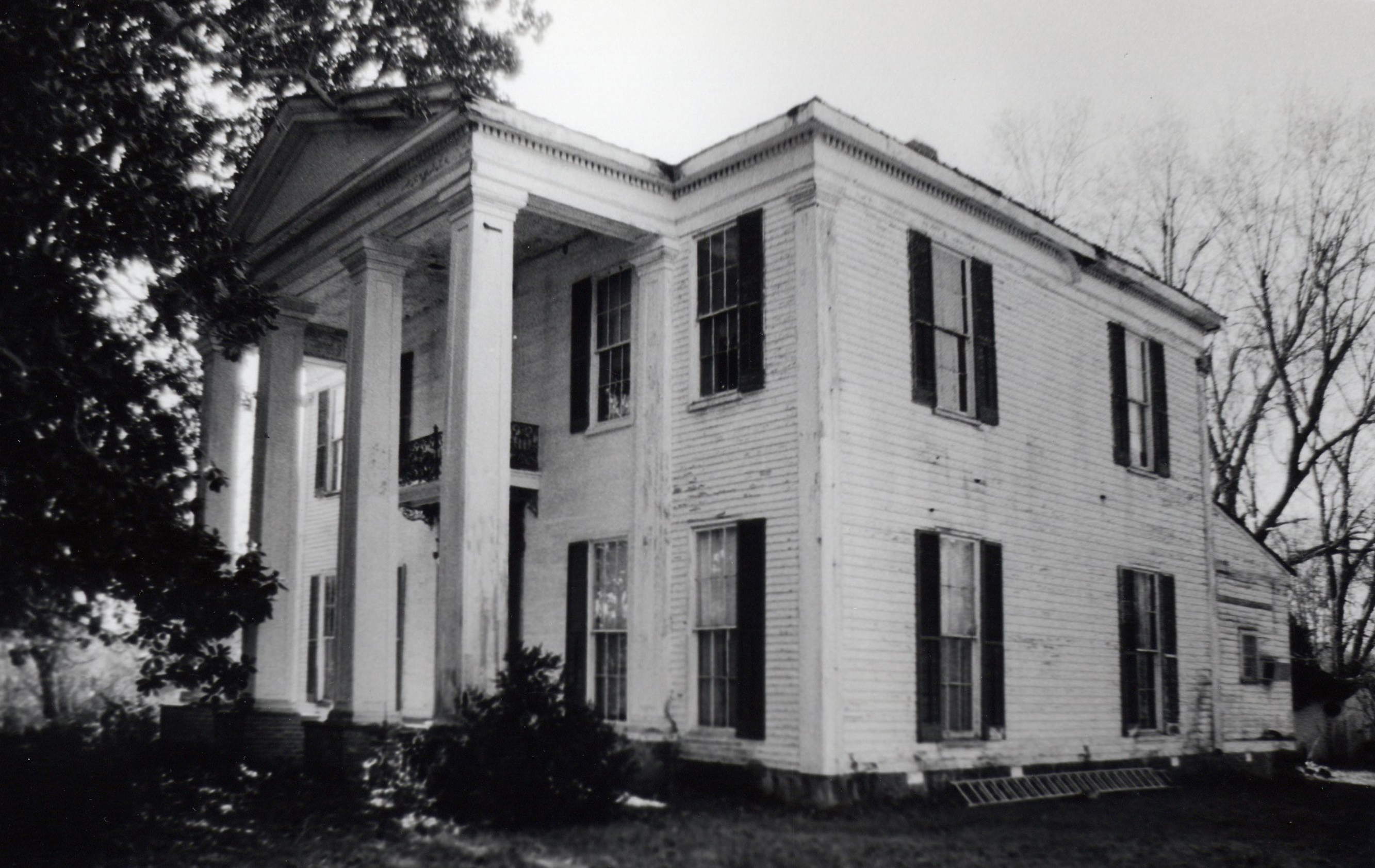 The McGehee Plantation House was built in 1856 and is today owned by McGehee descendants.