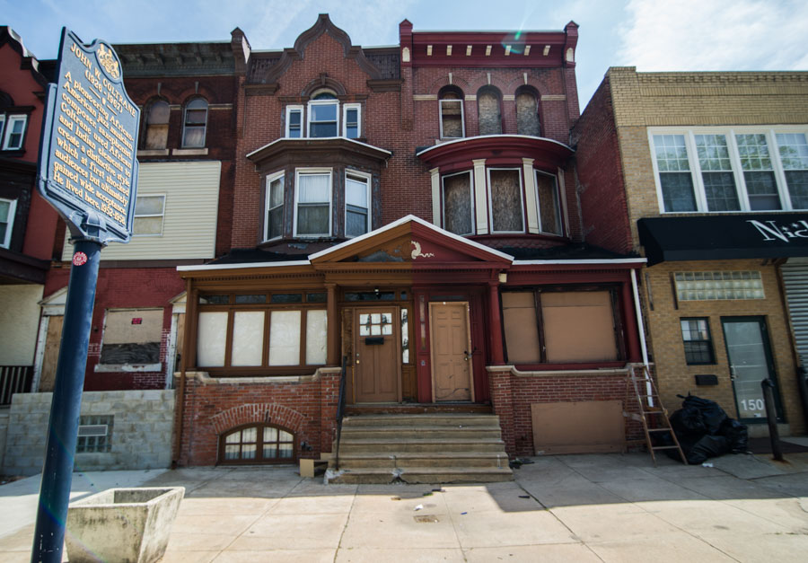 The Coltrane House and adjacent John Coltrane Center are both in need of restoration.