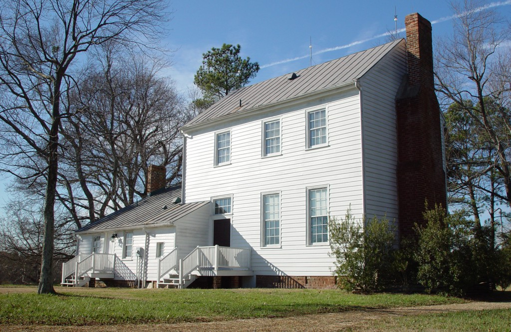 The Banks House, one of the oldest houses in the county.