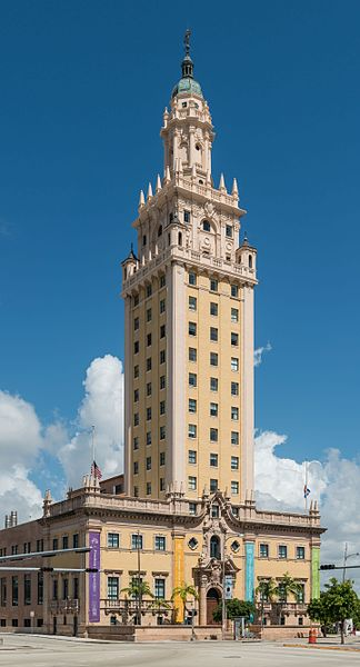 The museum is located within Miami's Freedom Tower, constructed in 1925 and designated as a National Historic Landmark in 2008.