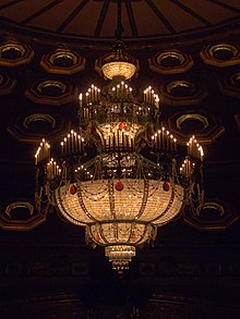 One of the 90 Chandeliers in the Benedum Center