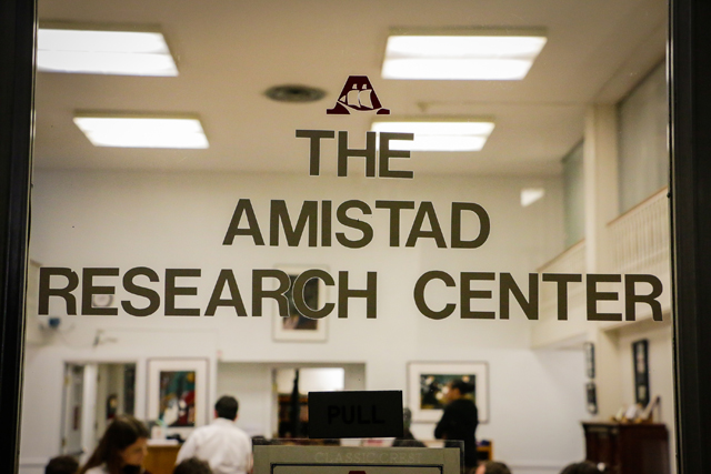 The AMistad Research Center is located in the former main library of Tulane, Tilton Memorial Hall
