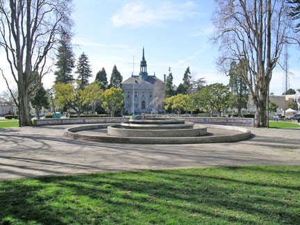 Civic Center Park (2004), with the 1908 City Hall Building in the background
