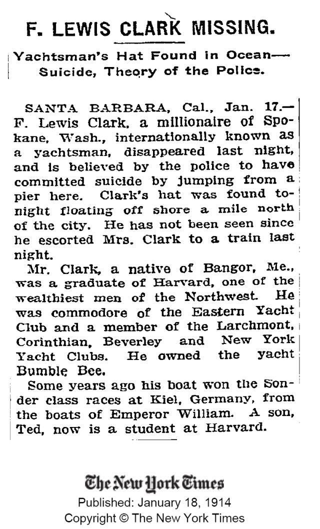 From the New York Times, 1914.