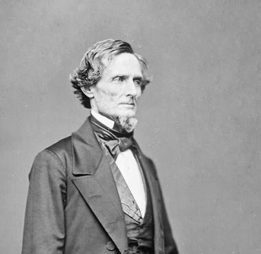 Jefferson Davis (image from the Civil War Trust)