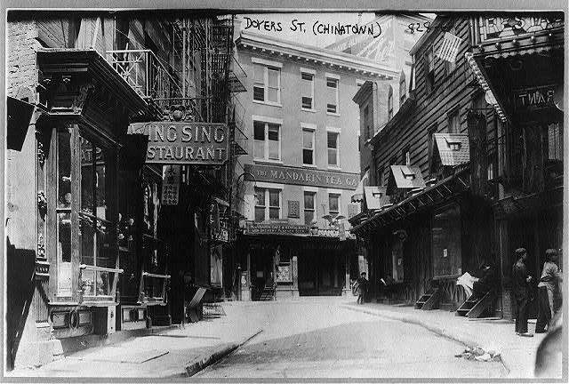 Street in 1909