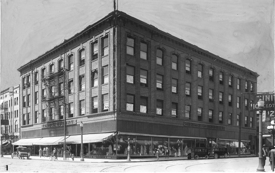 Frome Spokesman-Review Media Archives: Historical Image of Building (date unknown)