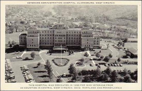 Clarksburg Dedication Photo initially dedicated on December 7, 1950.