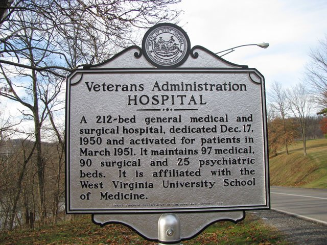 VA Hospital Sign