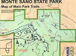Monte Sano State Park Map of Trails
