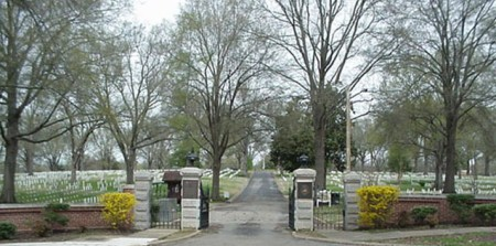 Entrance to Corinth National Cemetery. Photo: U.S. Department of Veterans Affairs - National Cemetery Administration.