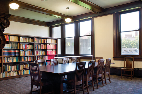 Interior renovation of Folwell Hall was completed in 2011
