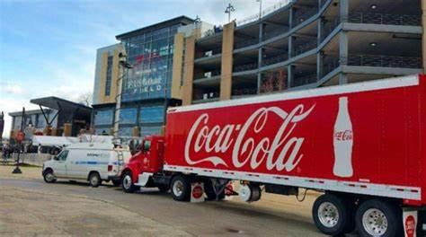 Chicago Coca Cola delivering to Sports teams in chicago